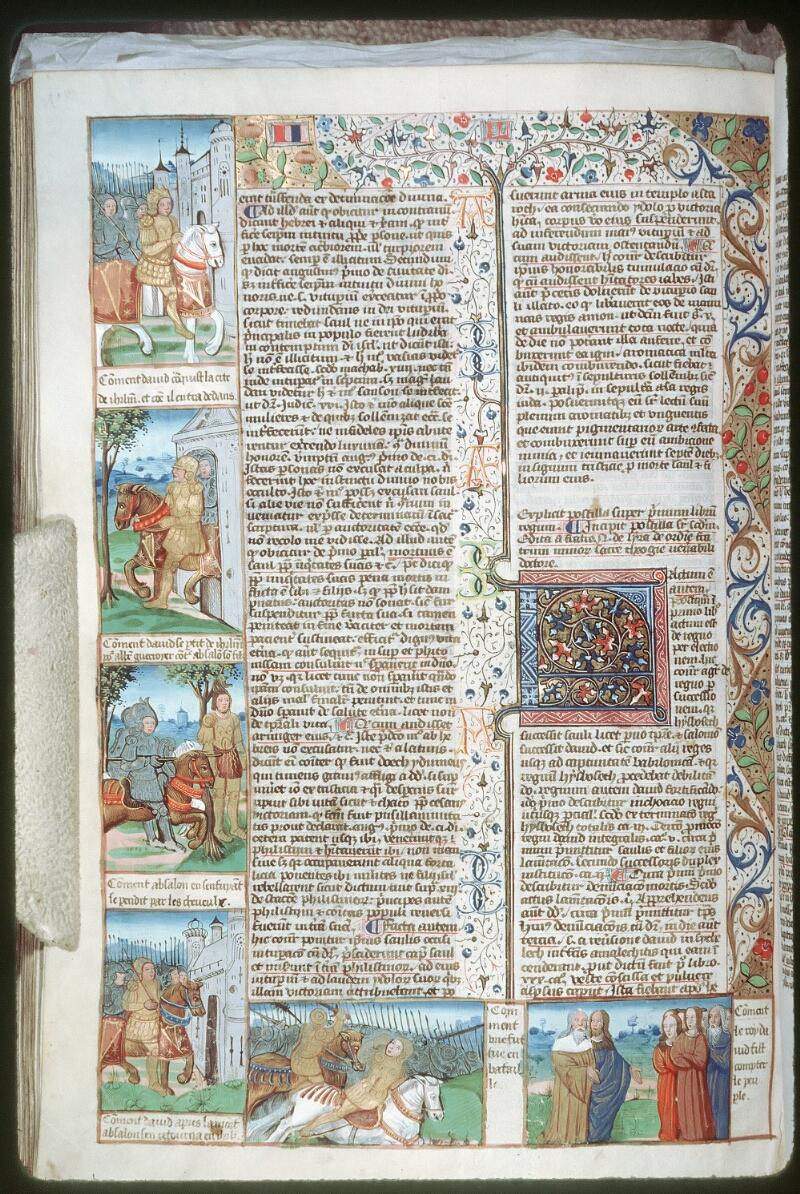 Tours, Bibl. mun., ms. 0052, f. 209v - vue 1