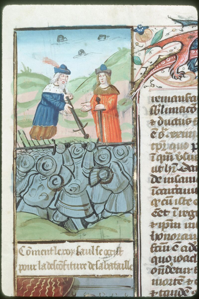 Tours, Bibl. mun., ms. 0052, f. 266v - vue 2