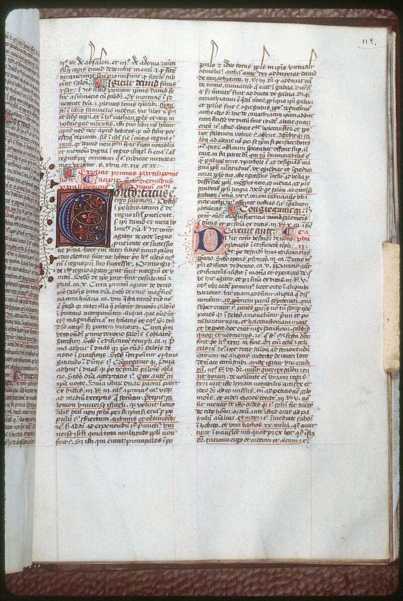 Tours, Bibl. mun., ms. 0058, f. 112