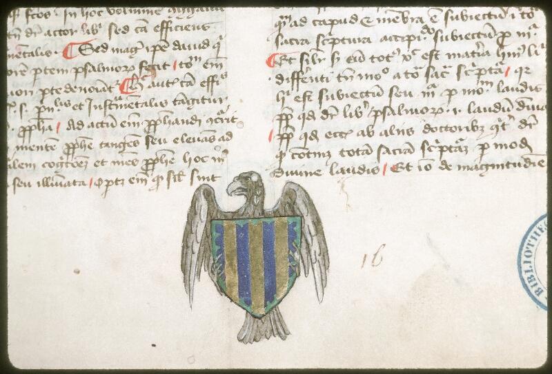 Tours, Bibl. mun., ms. 0063, f. 001 - vue 2