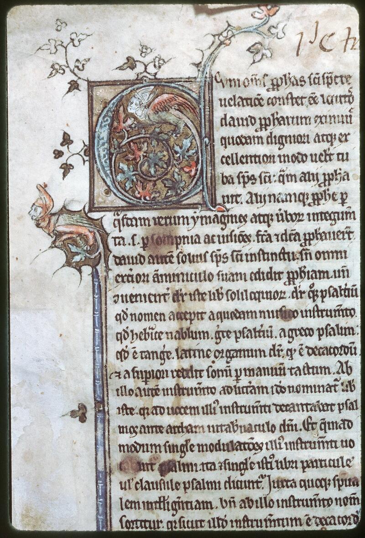 Tours, Bibl. mun., ms. 0074, f. 001 - vue 2