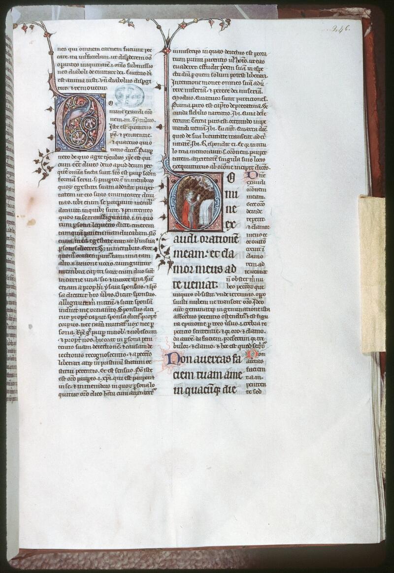 Tours, Bibl. mun., ms. 0074, f. 246 - vue 1