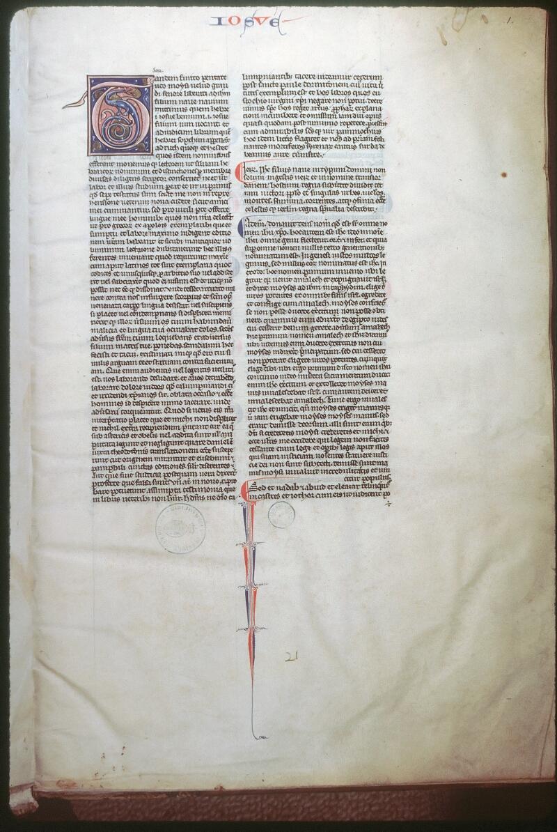 Tours, Bibl. mun., ms. 0087, f. 001