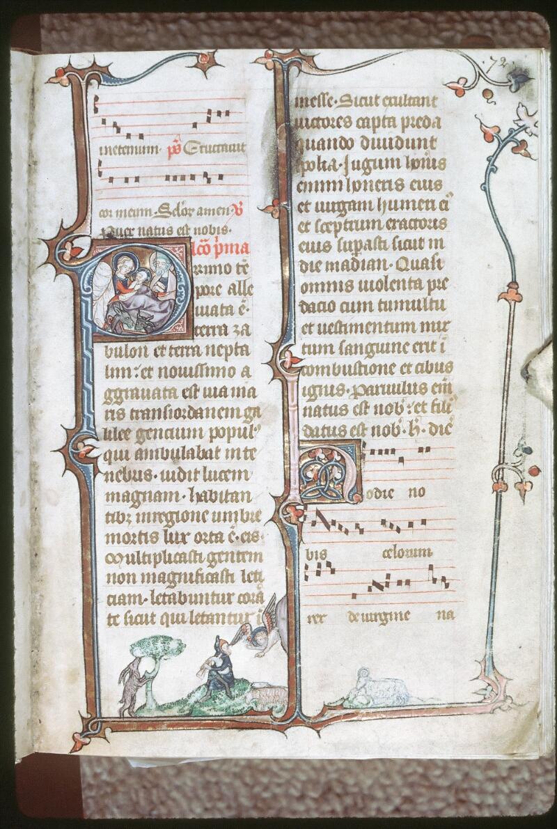 Tours, Bibl. mun., ms. 0149, f. 072 - vue 1