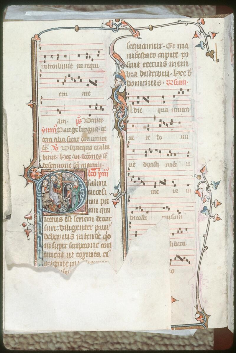 Tours, Bibl. mun., ms. 0149, f. 264v - vue 1