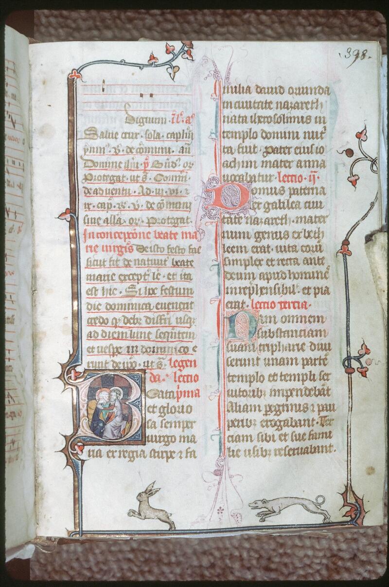 Tours, Bibl. mun., ms. 0149, f. 398 - vue 1