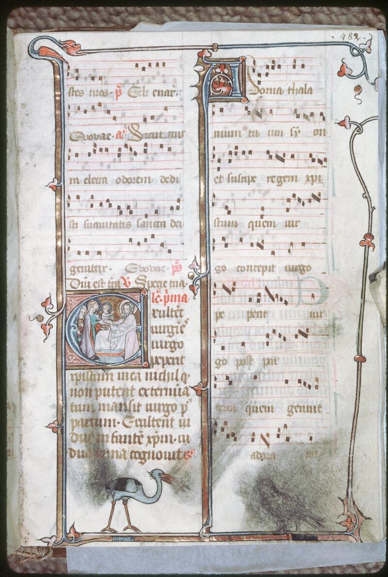 Tours, Bibl. mun., ms. 0149, f. 482 - vue 1