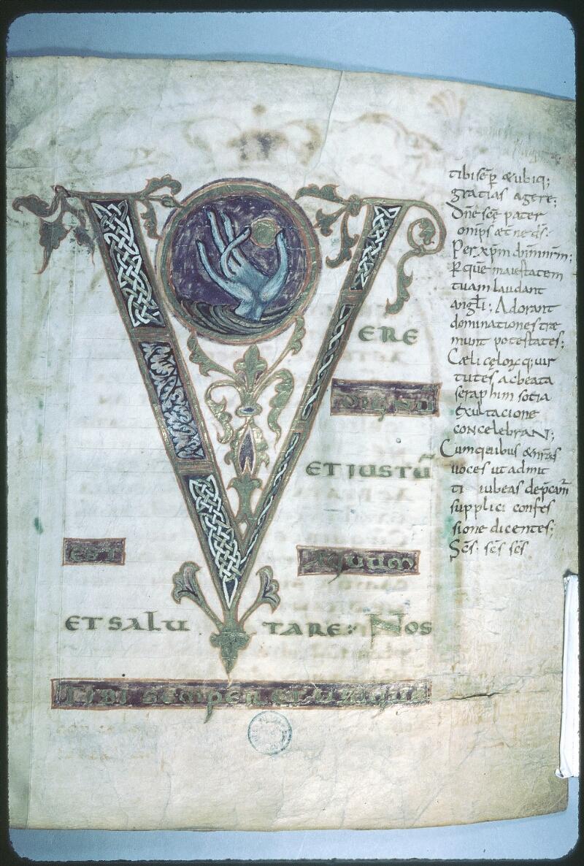 Tours, Bibl. mun., ms. 0184, f. 002 - vue 1