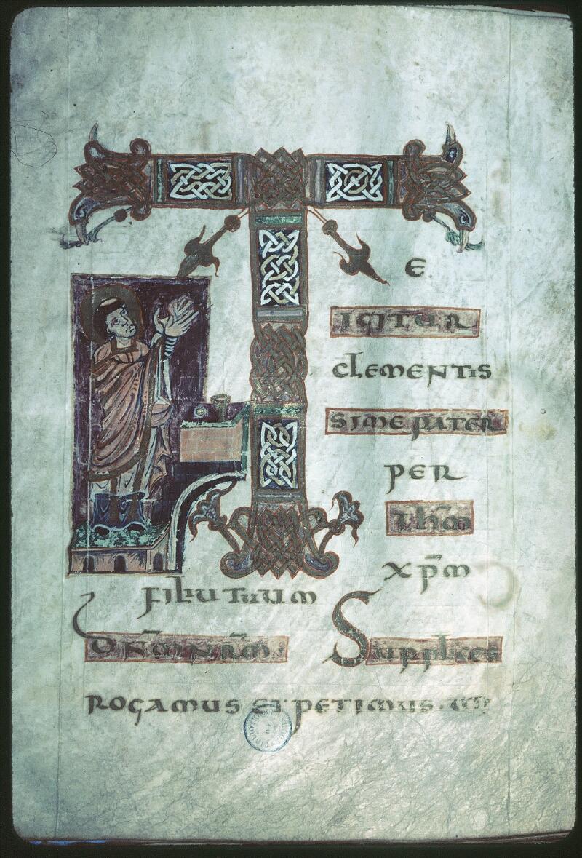 Tours, Bibl. mun., ms. 0184, f. 003 - vue 1