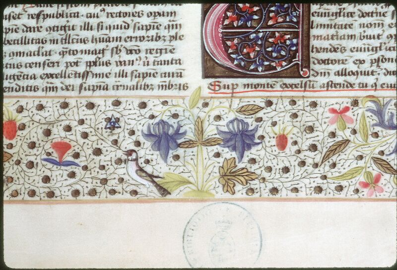 Tours, Bibl. mun., ms. 0109, f. 001 - vue 2
