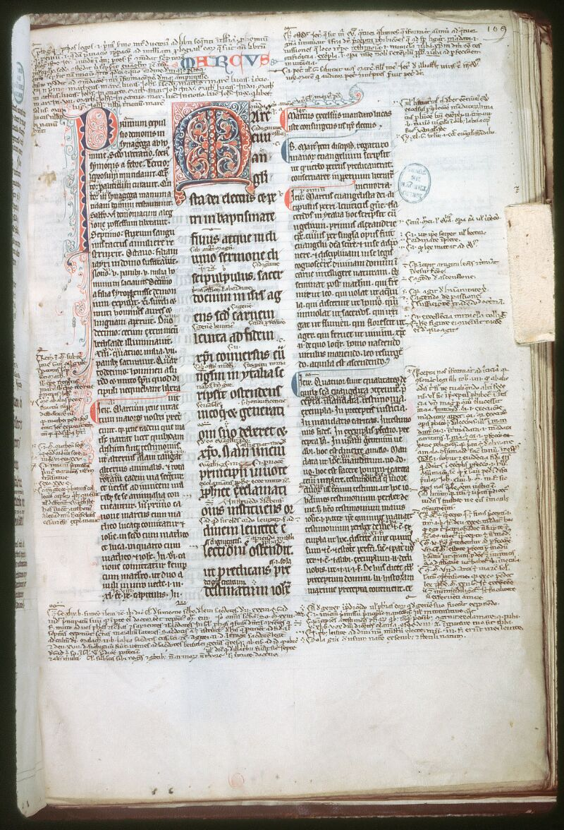 Tours, Bibl. mun., ms. 0122, f. 109