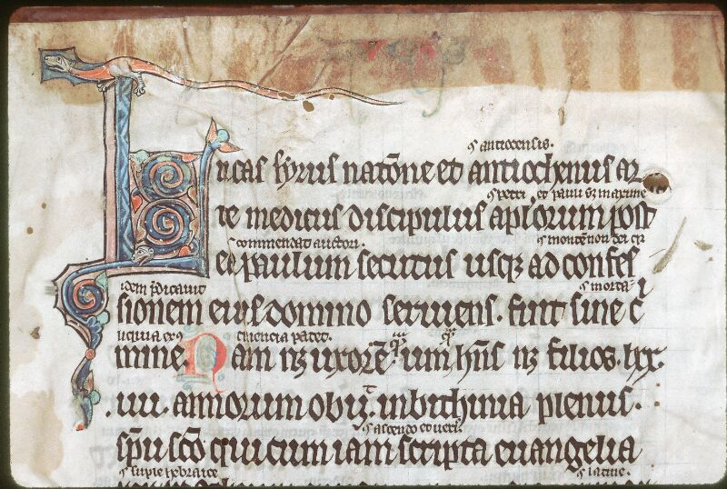 Tours, Bibl. mun., ms. 0129, f. 001