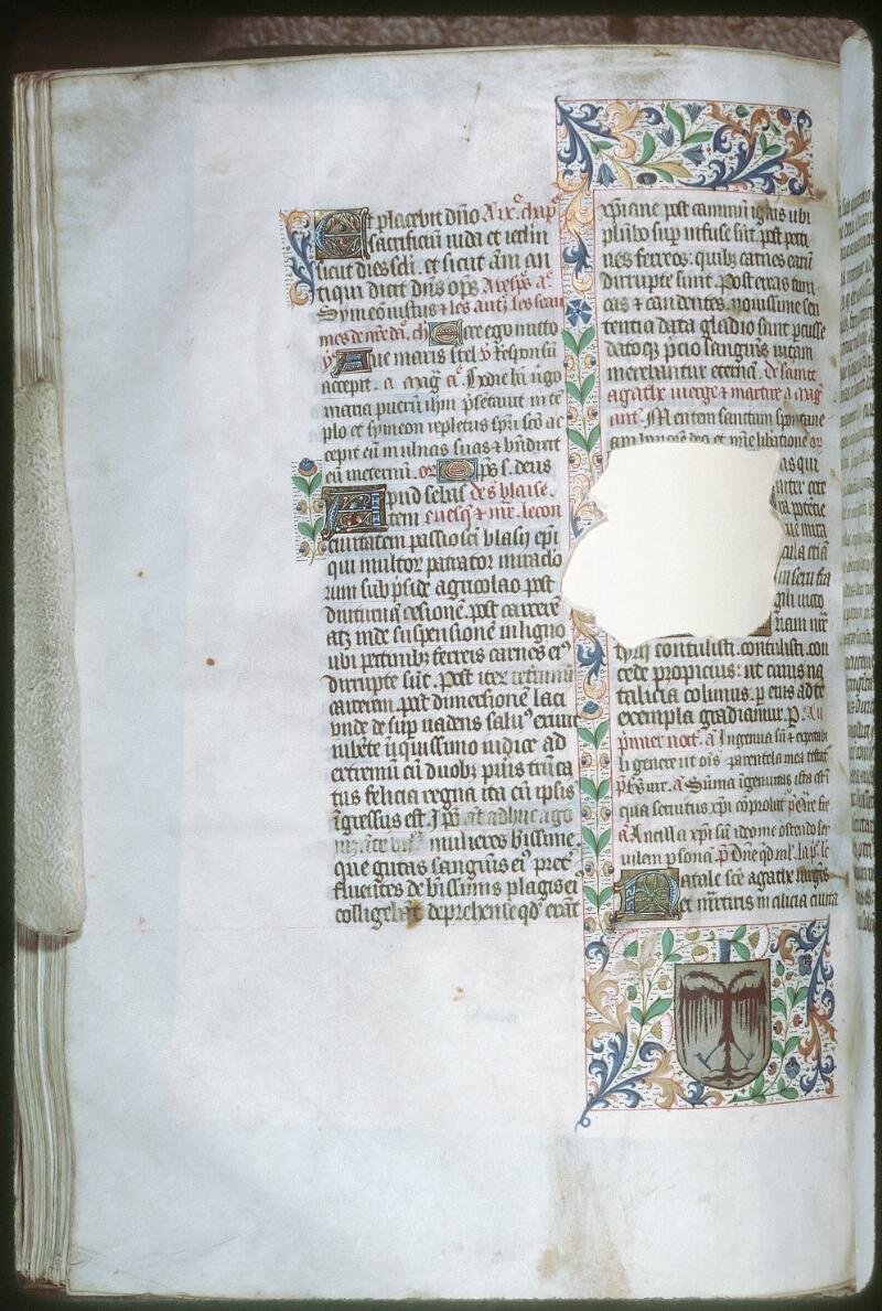 Tours, Bibl. mun., ms. 0143, f. 286v - vue 1