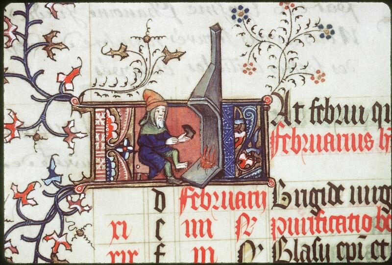 Tours, Bibl. mun., ms. 0185, f. 001v - vue 2