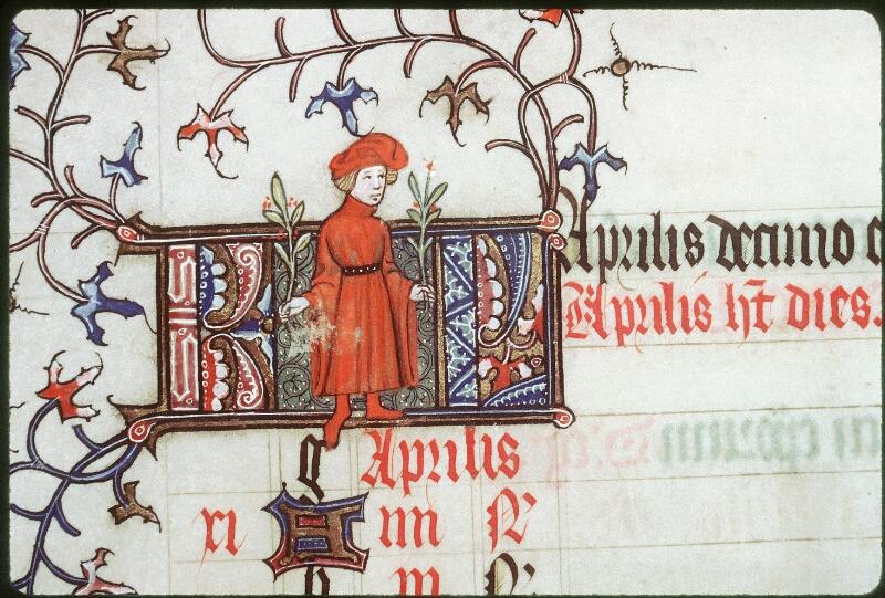 Tours, Bibl. mun., ms. 0185, f. 002v - vue 2