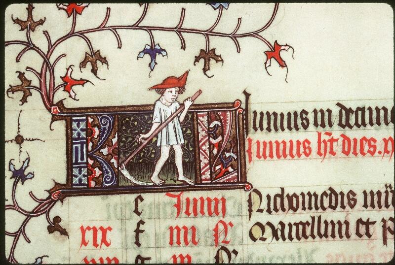 Tours, Bibl. mun., ms. 0185, f. 003v - vue 2