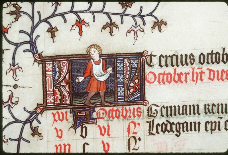Tours, Bibl. mun., ms. 0185, f. 005v - vue 2