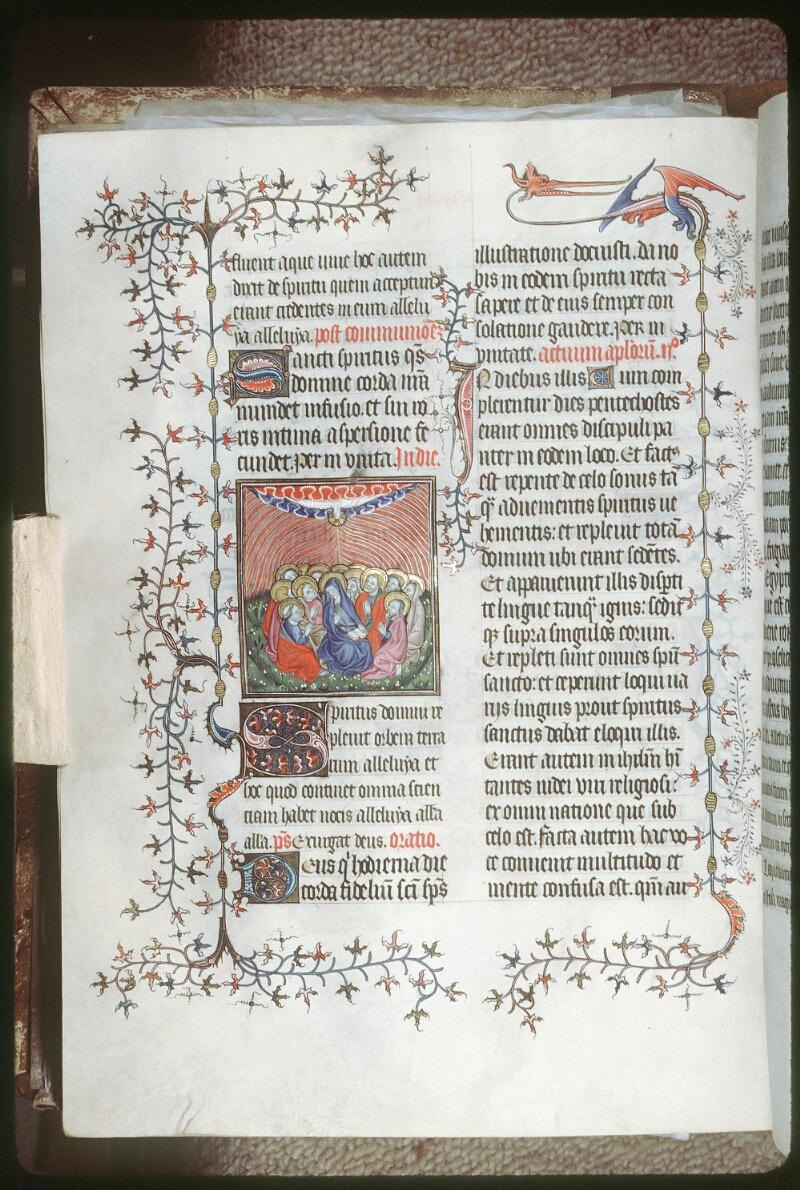 Tours, Bibl. mun., ms. 0185, f. 143v - vue 1