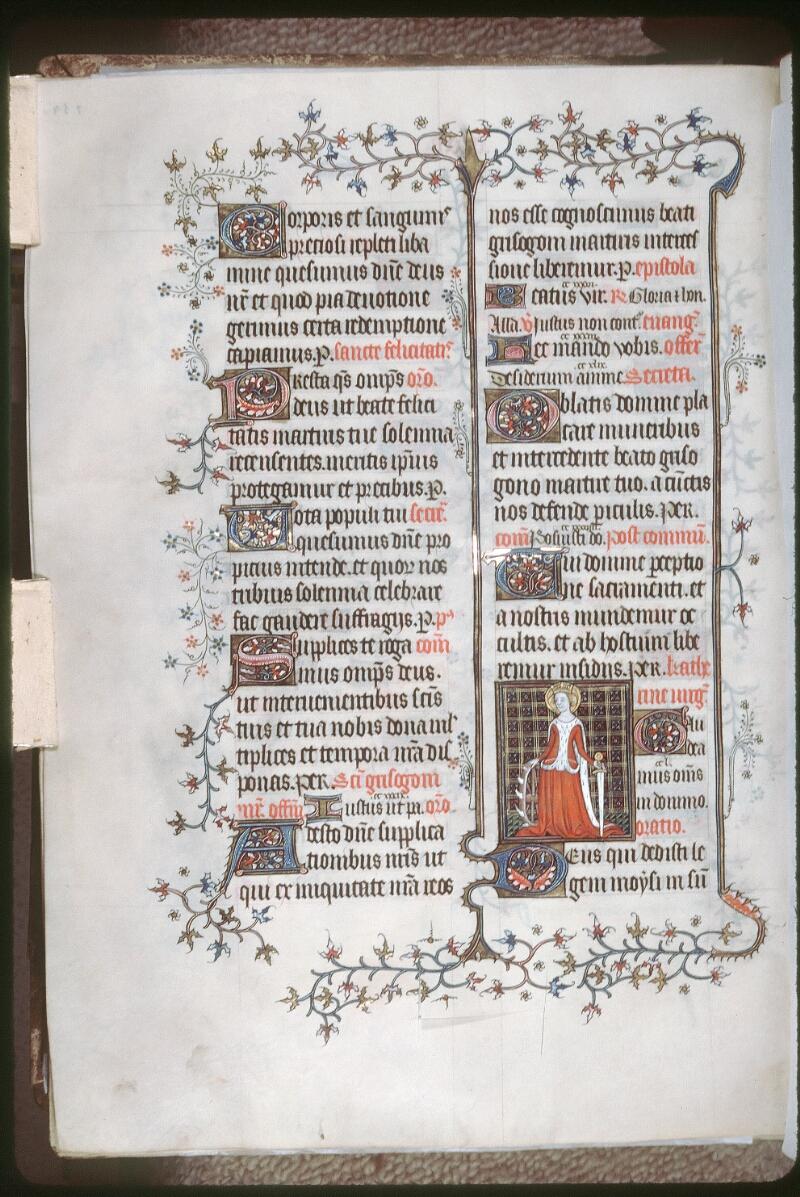 Tours, Bibl. mun., ms. 0185, f. 254v - vue 1