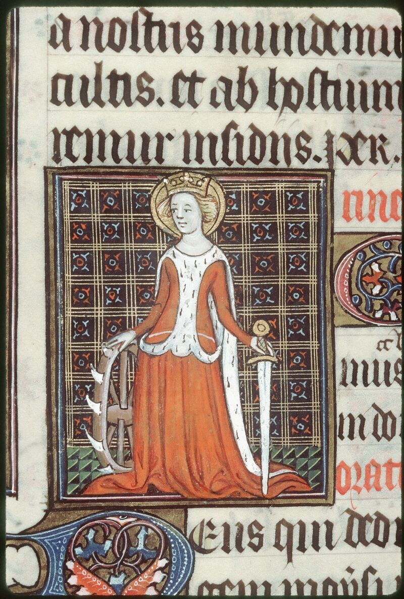 Tours, Bibl. mun., ms. 0185, f. 254v - vue 2