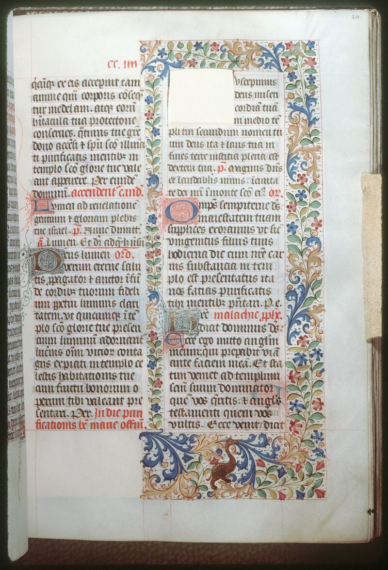 Tours, Bibl. mun., ms. 0186, f. 210