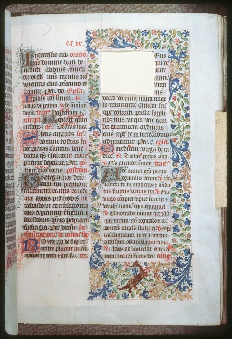 Tours, Bibl. mun., ms. 0186, f. 215
