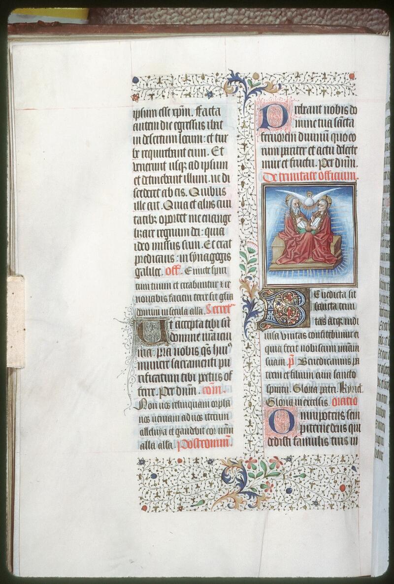 Tours, Bibl. mun., ms. 0187, f. 041v - vue 1