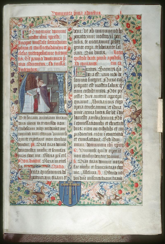 Tours, Bibl. mun., ms. 0190, f. 007 - vue 1