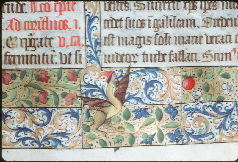 Tours, Bibl. mun., ms. 0190, f. 114 - vue 3