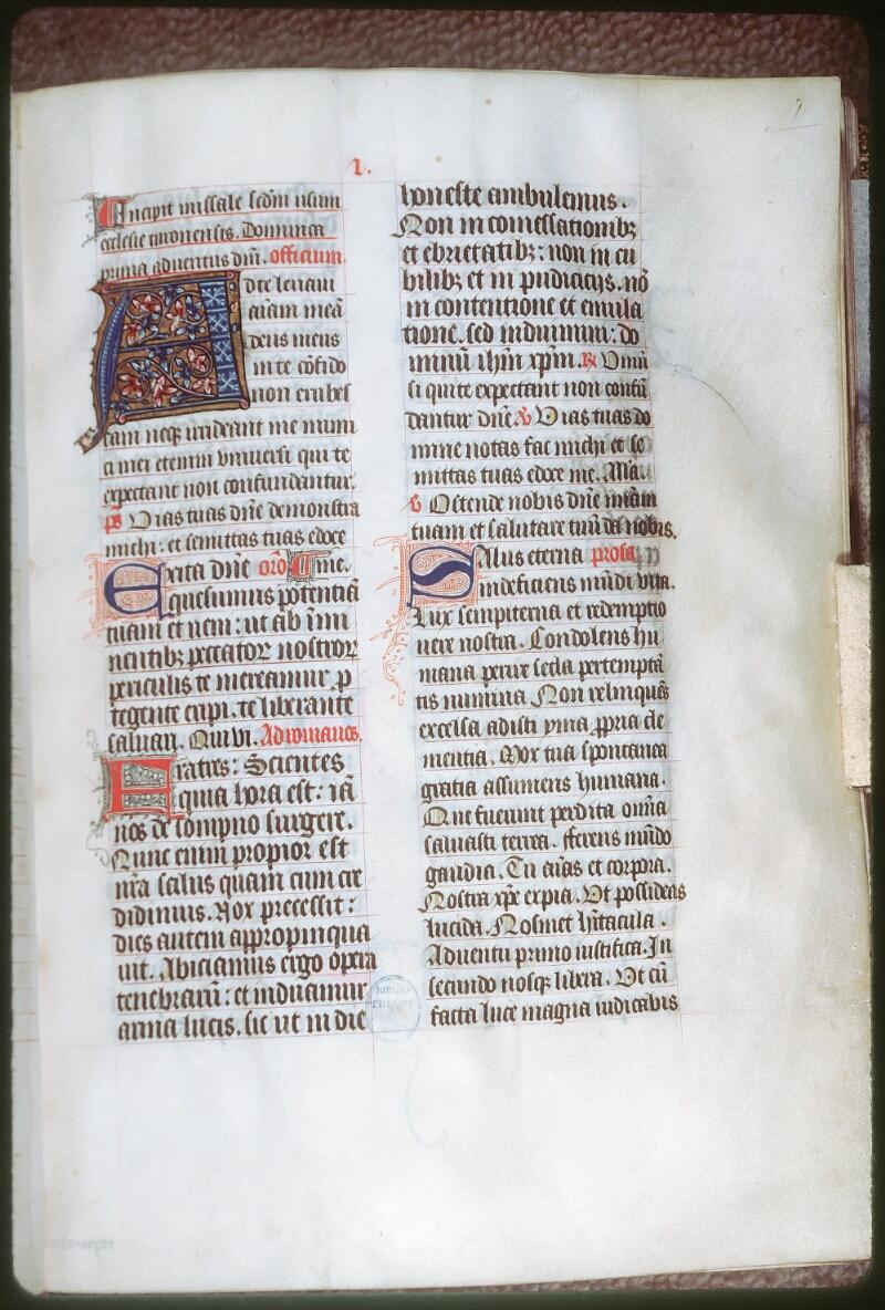 Tours, Bibl. mun., ms. 0191, f. 007