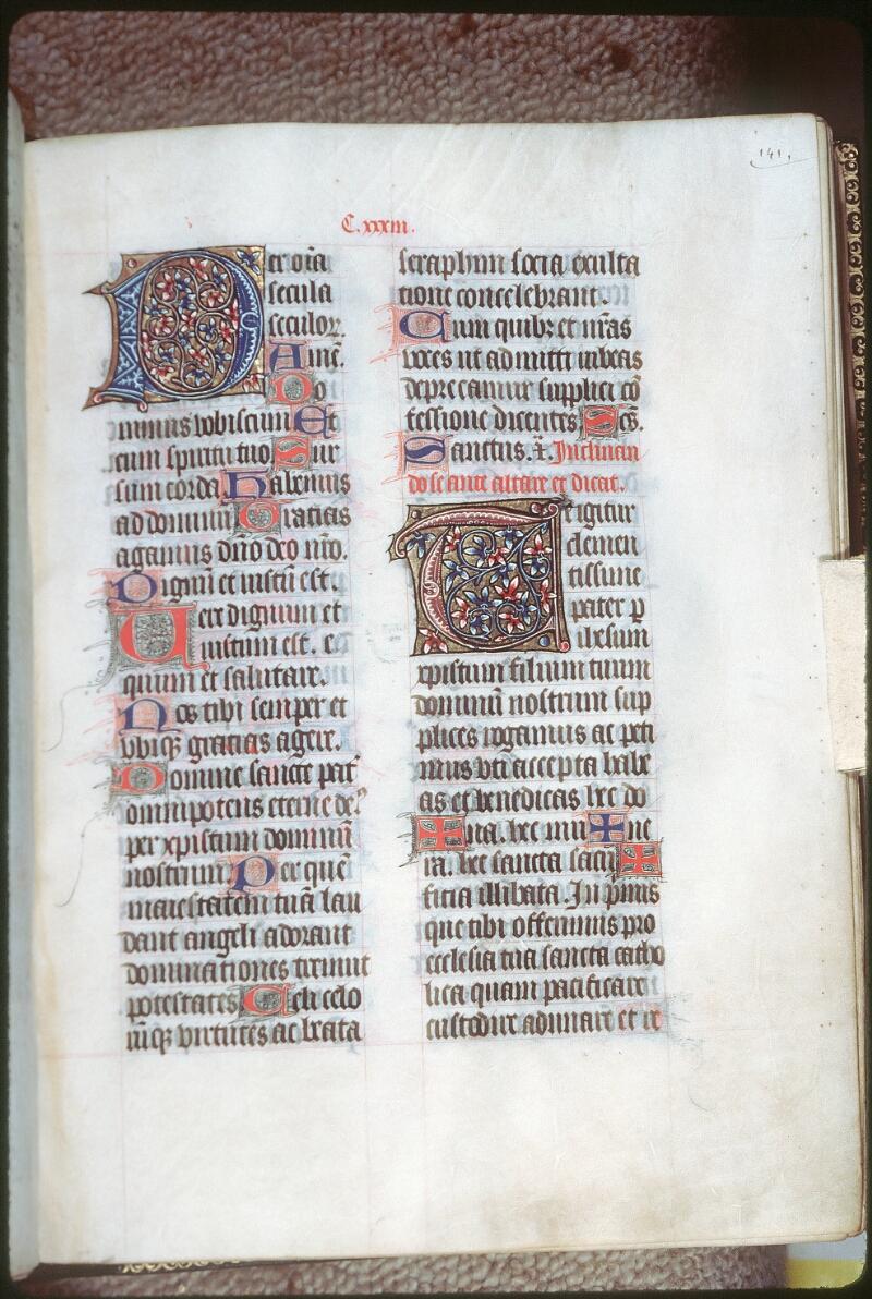 Tours, Bibl. mun., ms. 0191, f. 141