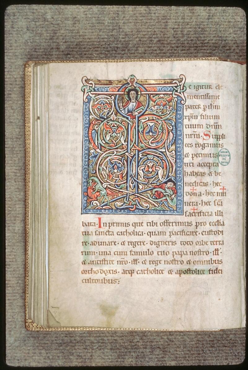 Tours, Bibl. mun., ms. 0193, f. 071v - vue 1