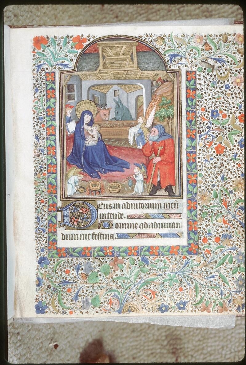 Tours, Bibl. mun., ms. 0217, f. 005 - vue 1