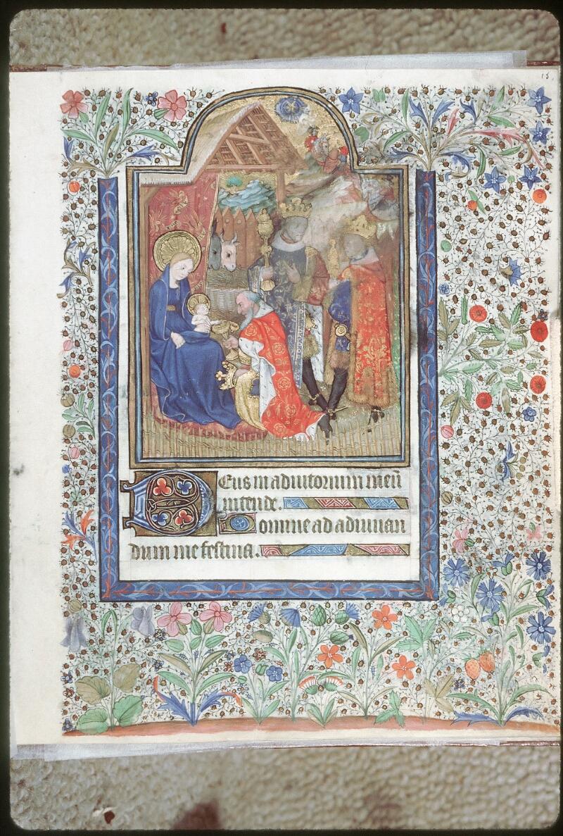 Tours, Bibl. mun., ms. 0217, f. 015 - vue 1