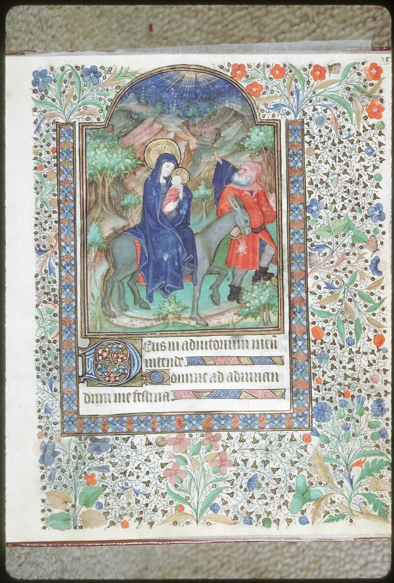 Tours, Bibl. mun., ms. 0217, f. 025 - vue 1