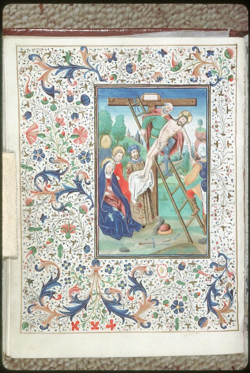 Tours, Bibl. mun., ms. 0218, f. 072v - vue 1