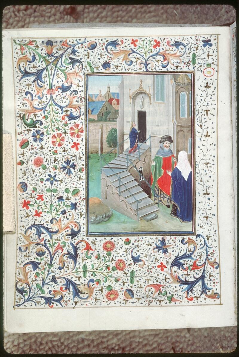 Tours, Bibl. mun., ms. 0218, f. 169v - vue 1
