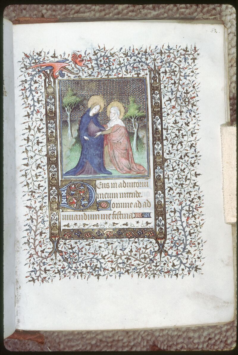Tours, Bibl. mun., ms. 0220, f. 052 - vue 1