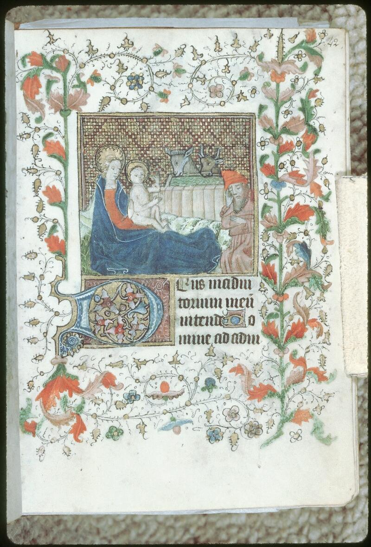 Tours, Bibl. mun., ms. 0226, f. 042 - vue 1