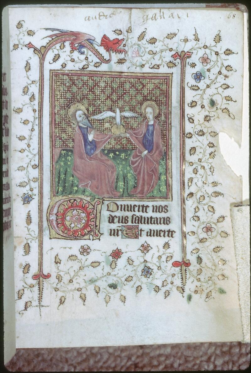 Tours, Bibl. mun., ms. 0226, f. 068 - vue 1