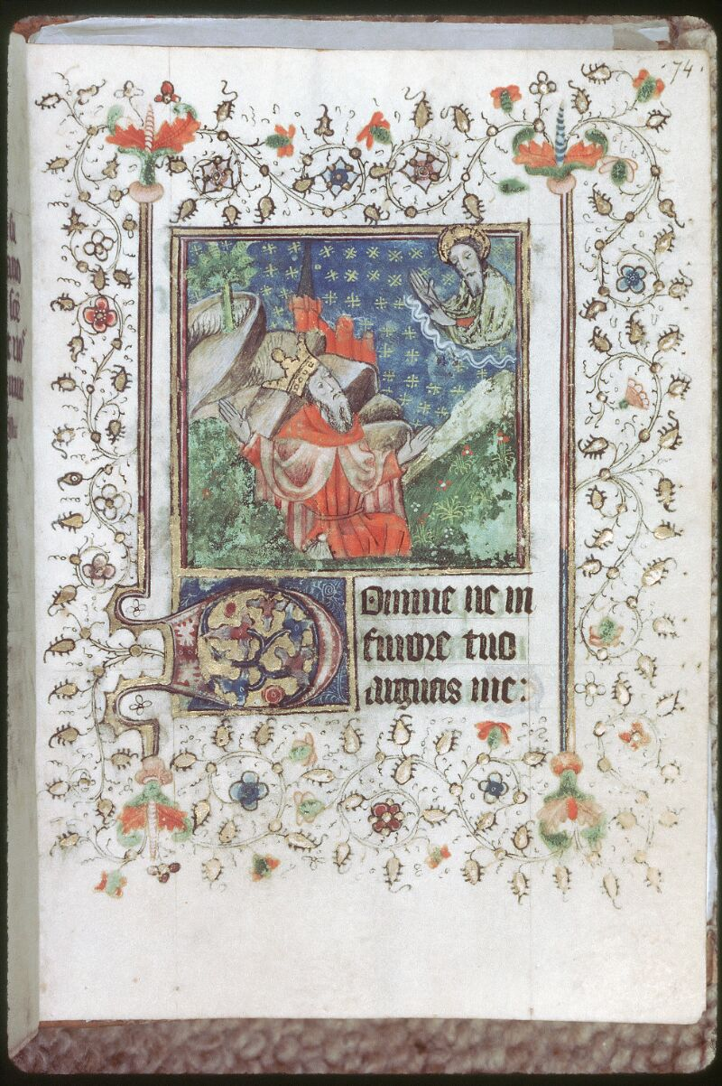 Tours, Bibl. mun., ms. 0226, f. 074 - vue 1