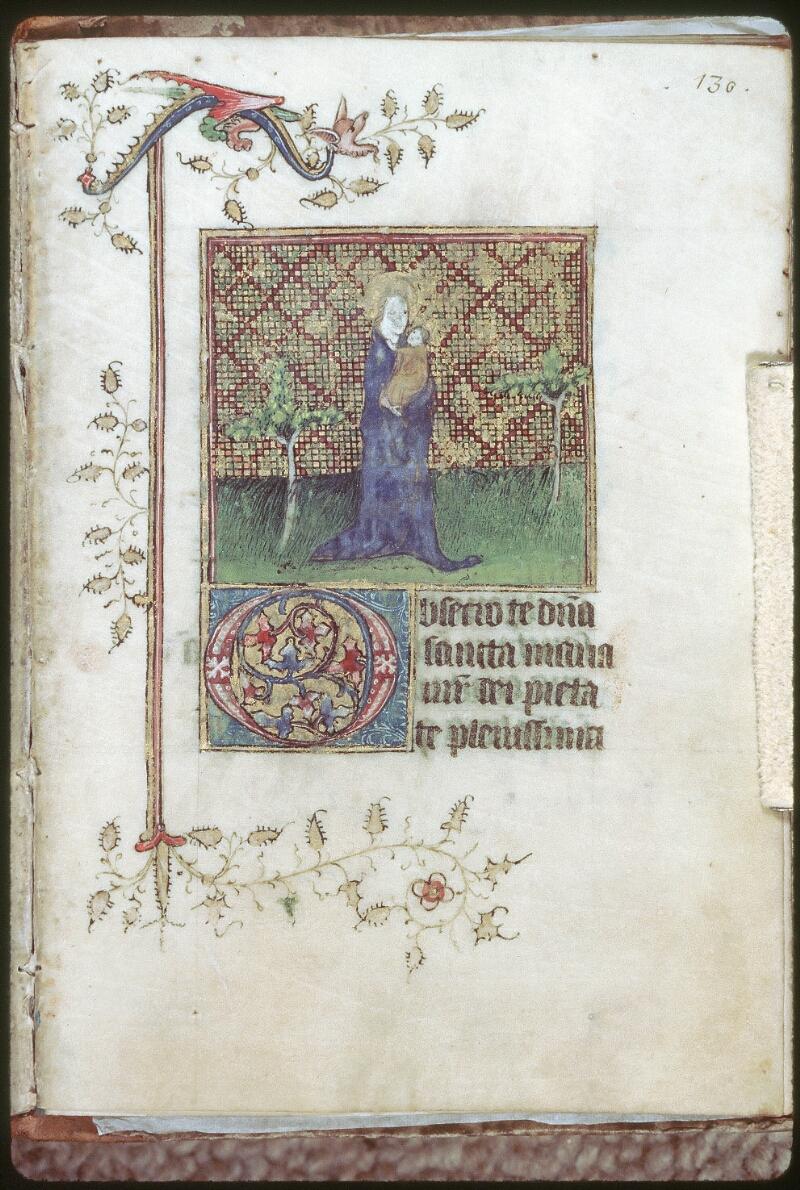 Tours, Bibl. mun., ms. 0226, f. 130 - vue 1