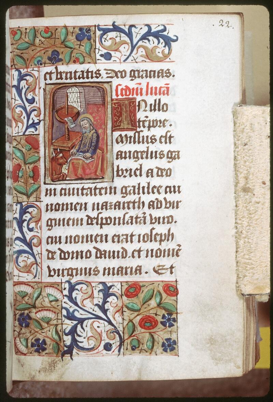 Tours, Bibl. mun., ms. 0227, f. 022 - vue 1