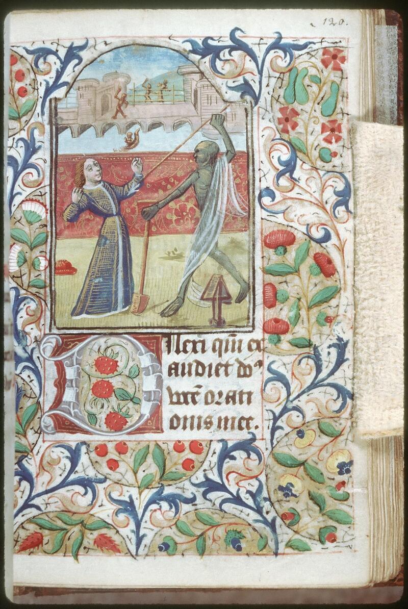 Tours, Bibl. mun., ms. 0227, f. 120 - vue 1