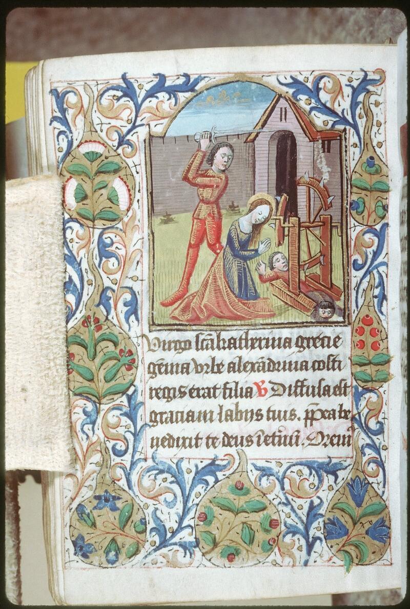 Tours, Bibl. mun., ms. 0227, f. 160v - vue 1