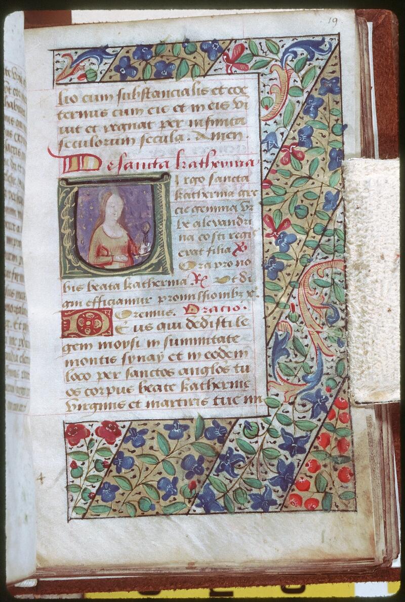 Tours, Bibl. mun., ms. 0229, f. 019 - vue 1