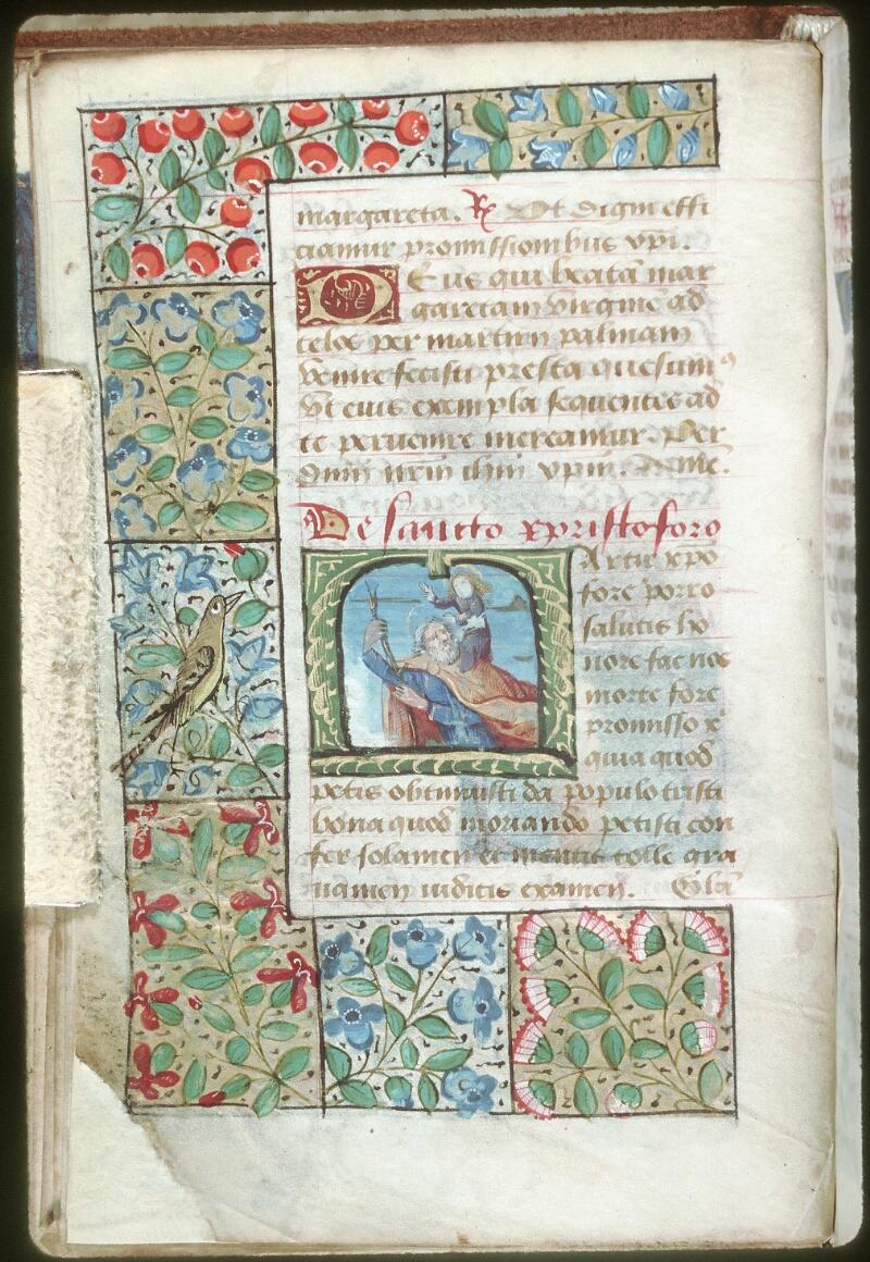Tours, Bibl. mun., ms. 0229, f. 020v - vue 1