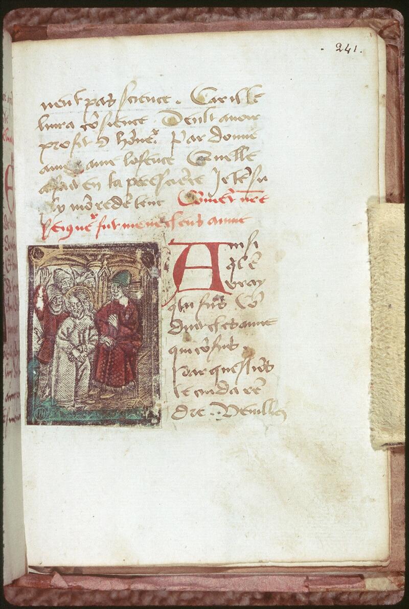 Tours, Bibl. mun., ms. 0231, f. 241