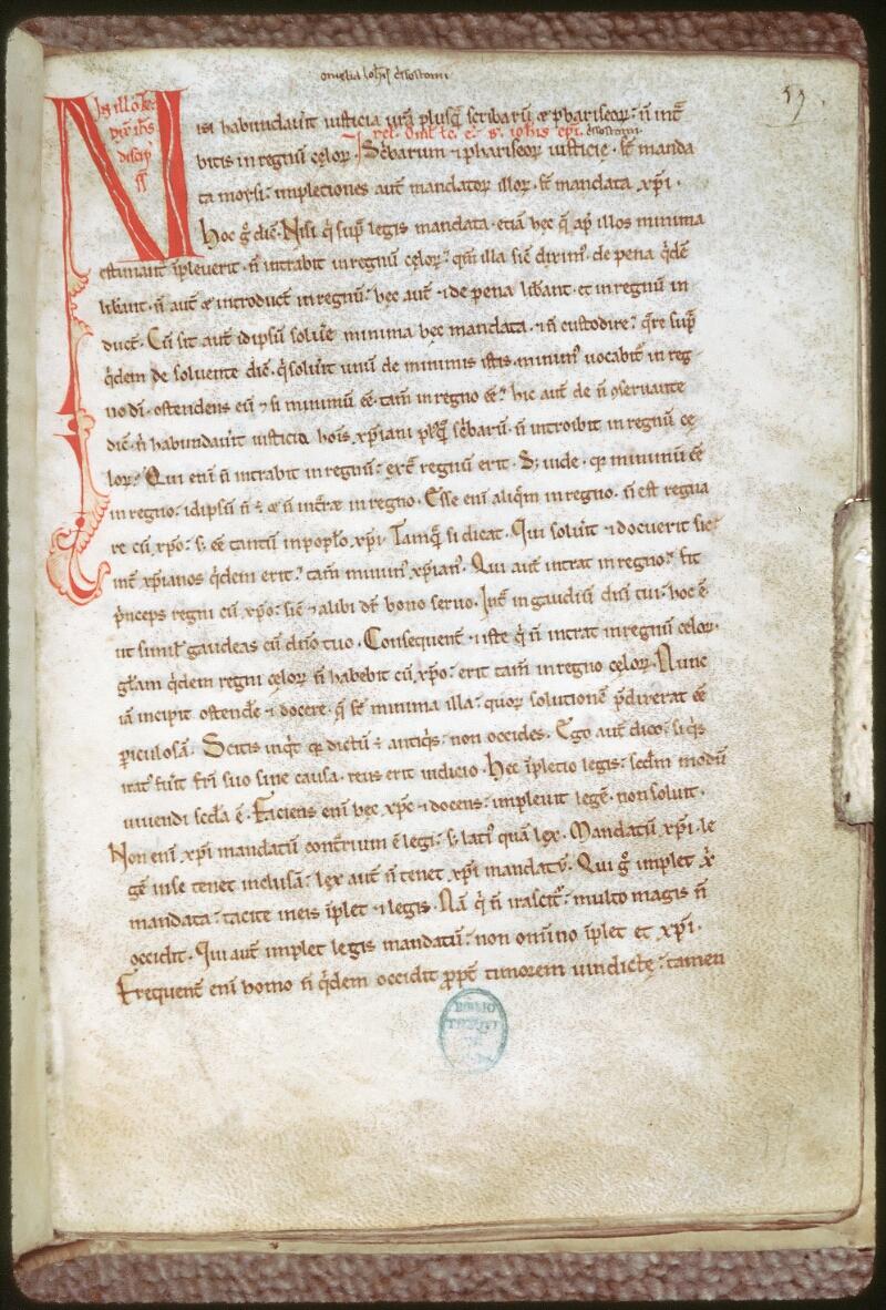 Tours, Bibl. mun., ms. 0246, f. 057