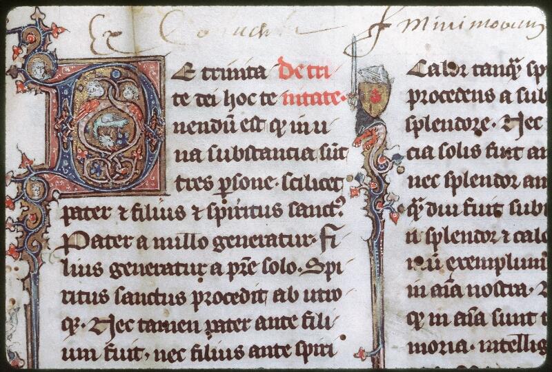 Tours, Bibl. mun., ms. 0398, f. 001 - vue 2